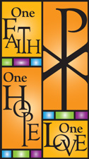 One Faith, One Hope, One Love Logo