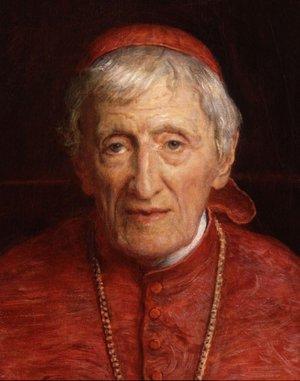 John Henry Newman painting