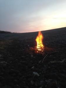 Lewis bonfire
