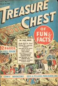 Treasure Chest first issue