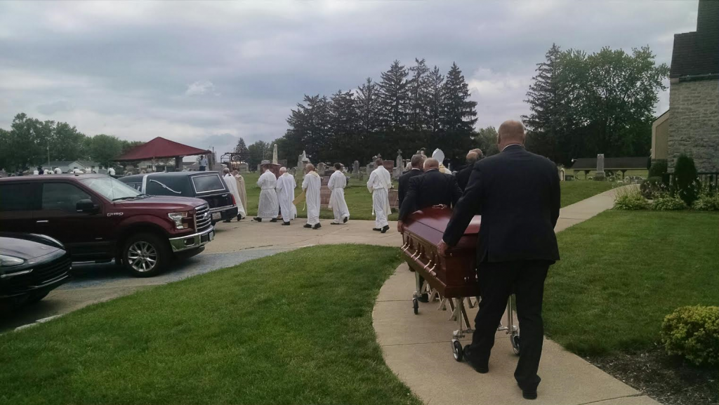 Fr Perin funeral