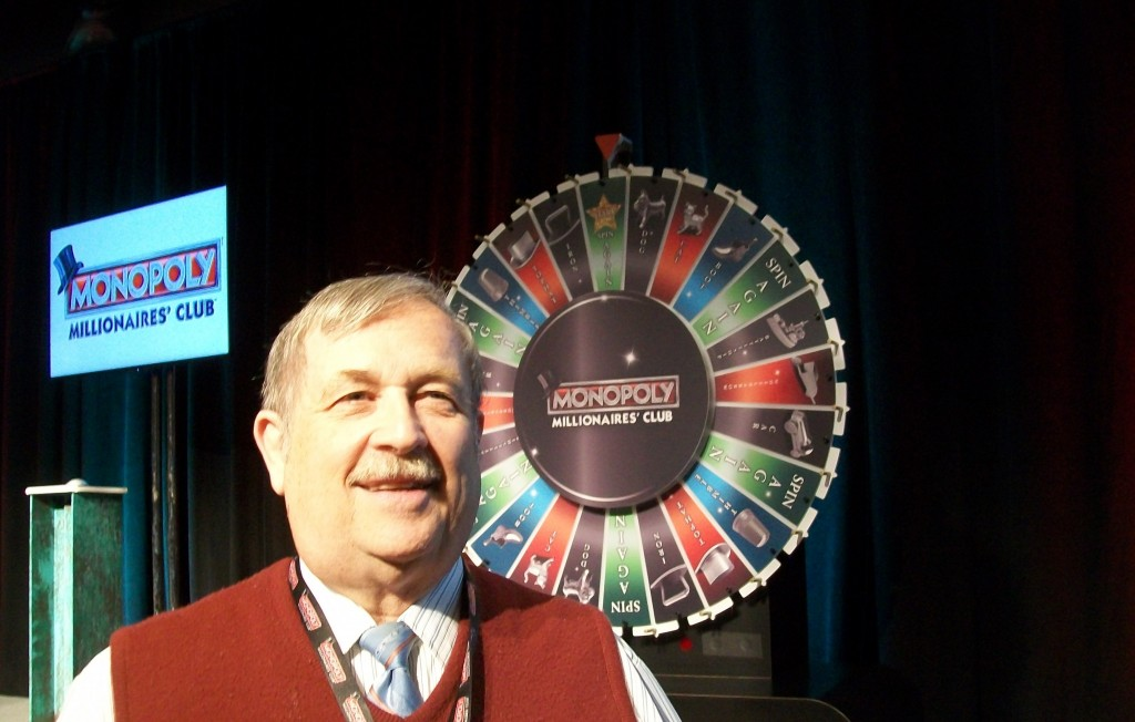 Monopoly Million wheel