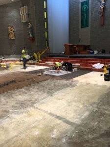 OLV renovations