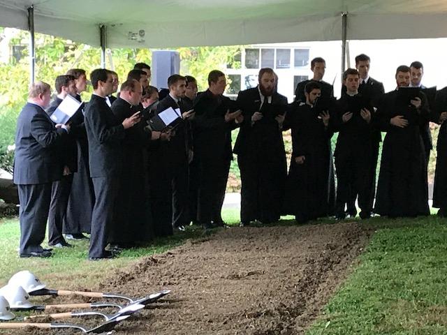 Seminary groundbreaking