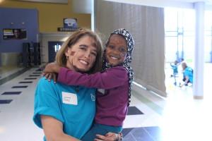 AR World Refugee Day Hug